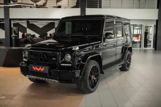 tonirovka Mercedes G-Class